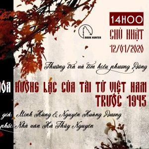 Văn hóa Hưởng Lạc của tài tử Việt Nam trước 1945