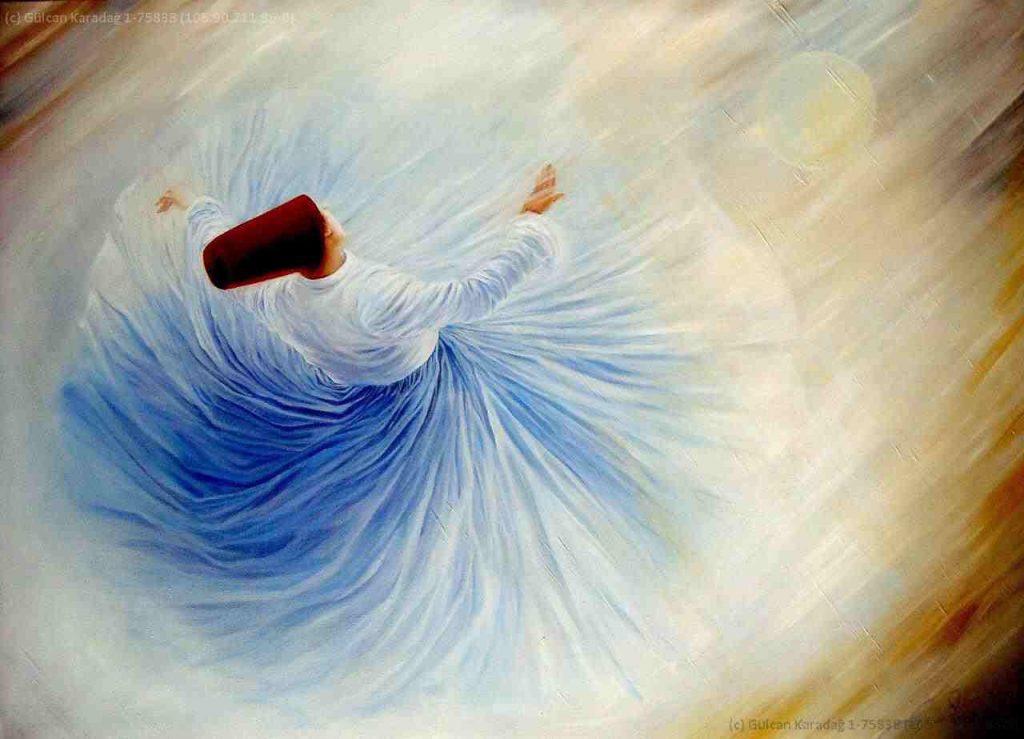 Rumi tinh tuyệt - Say, quay và bay